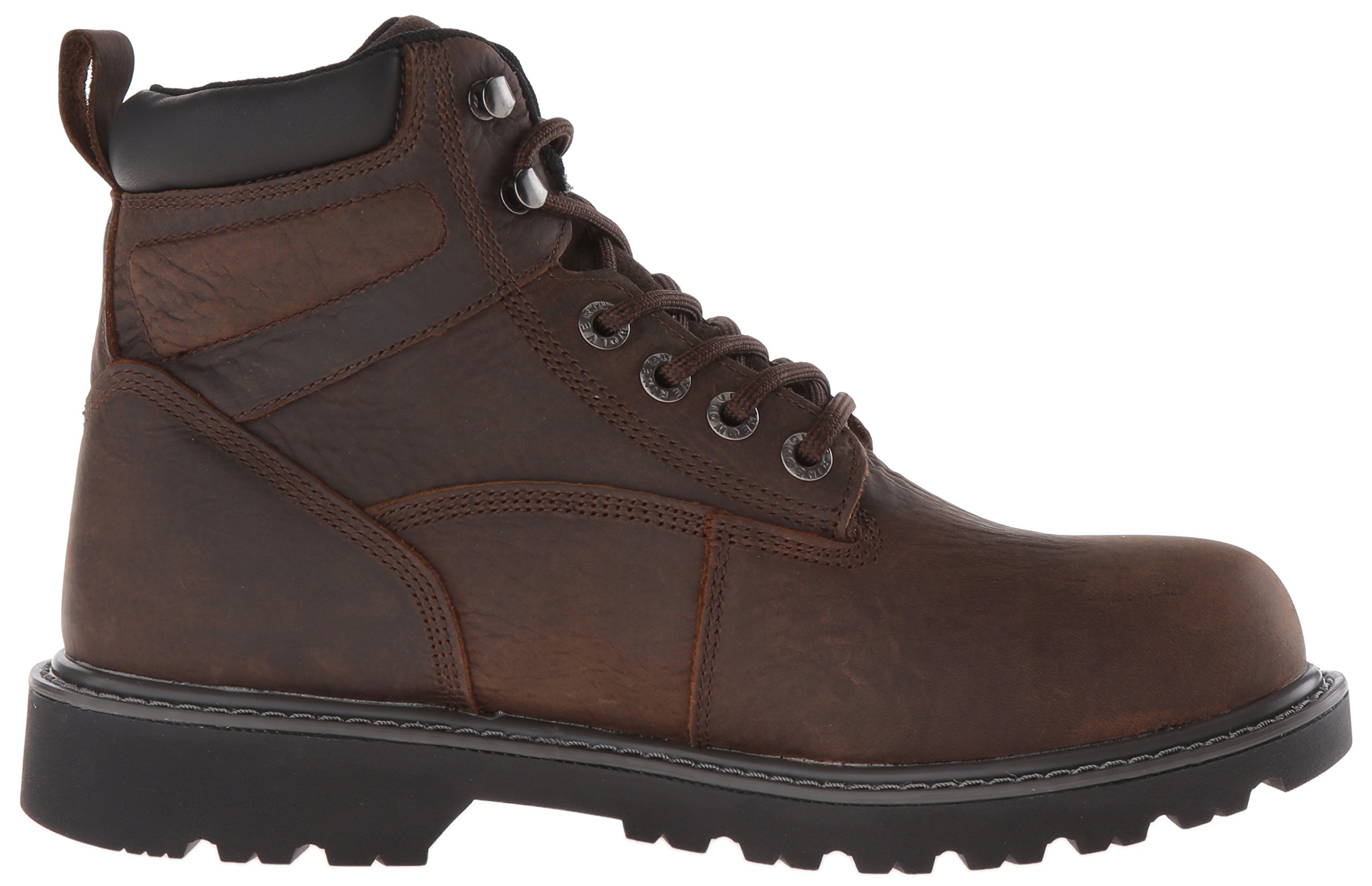 Wolverine Men's Floorhand 6 Inch Waterproof Steel Toe Work Shoe, Dark Brown, 9.5 M US by Wolverine (Image #7)