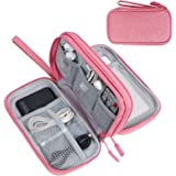 FYY Electronic Organizer, Travel Cable Organizer Bag Pouch Electronic Accessories Carry Case Portable Waterproof Double Layer