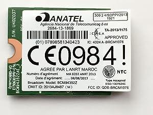 Broadcom BCM94352Z DW1560 802.11a/b/g/n/ac WLAN + Bluetooth 4.0 M.2 NGFF Mini Card 867Mbps