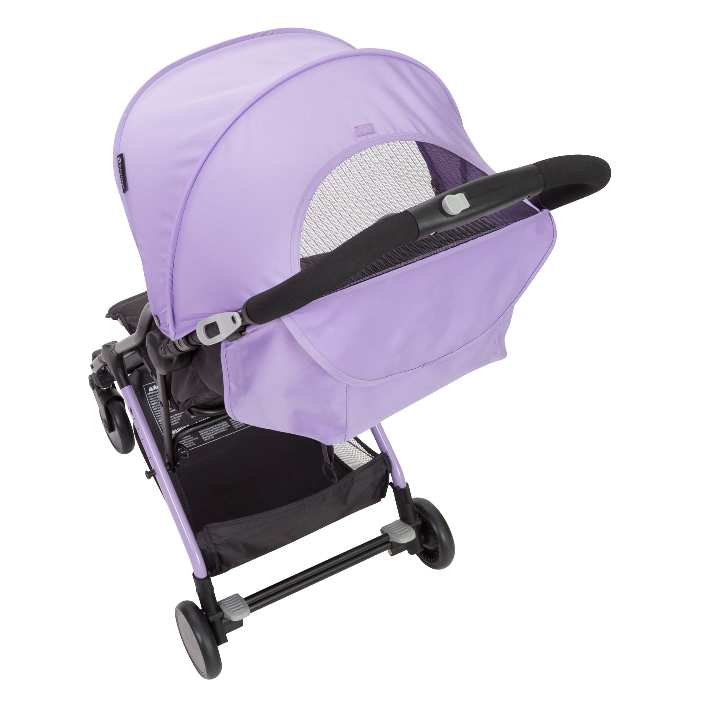 Baby Trend Tri-Fold Mini Stroller, Lilac by Baby Trend (Image #3)