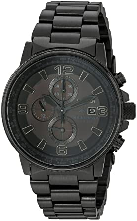 73600d74e1d Amazon.com  Citizen Men s CA0295-58E Eco-Drive Nighthawk Stainless Steel  Watch  Citizen  Watches
