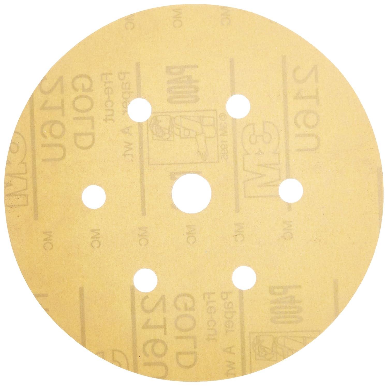 3M 00912 Hookit Gold 3 P500A Grit Disc