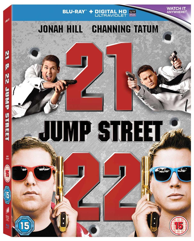 21 Jump Street / 22 Jump Street Set Twenty One Jump Street / Twenty Two Jump Street  UV Copy Reg.A/B/C United Kingdom