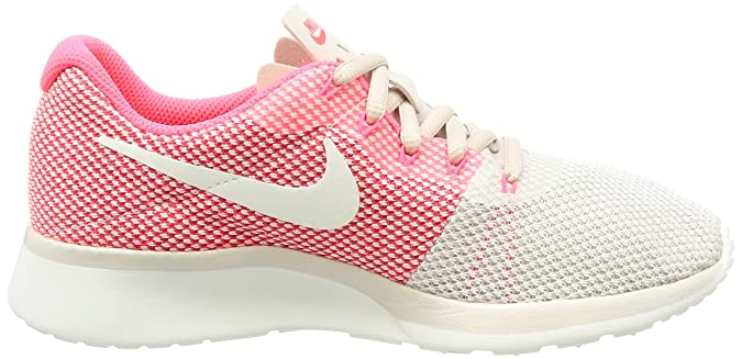 Amazon.com | Nike Womens Tanjun Racer Running Shoe LT Orewood Brn/Chrom-Sail-Solar Red 7 | Fashion Sneakers