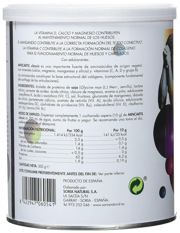 Soria Natural Mincartil Classic - 300 gramos: Amazon.es: Salud y cuidado personal