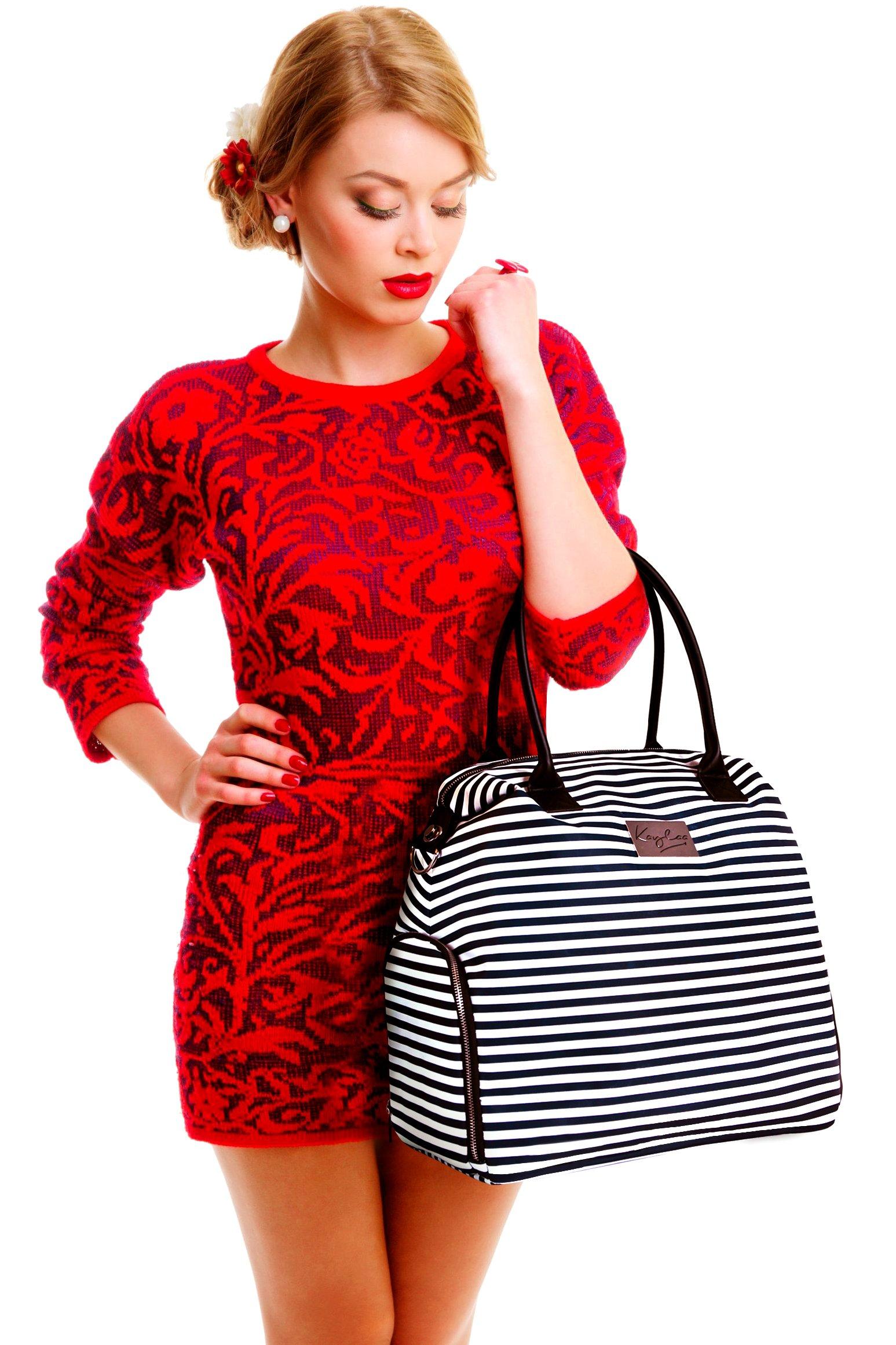 Kaylaa Premium Breast Pump Bag (Luxury Stripe) by Kaylaa (Image #5)