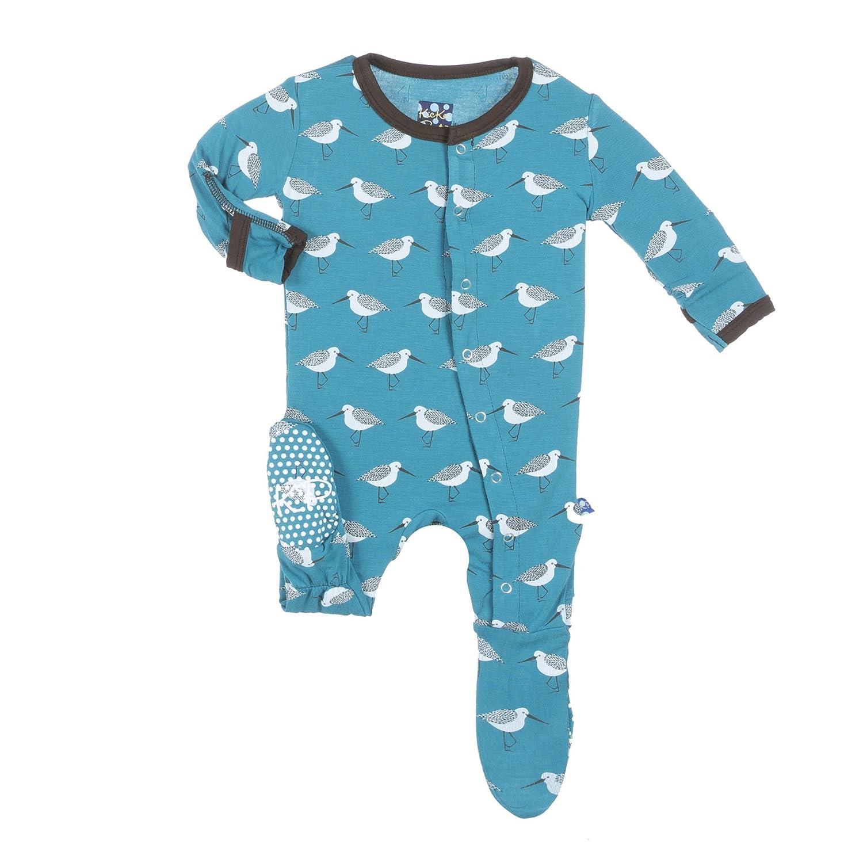 Amazon Kickee Pants Baby Boys Print Footie Prd kpf173 Bays