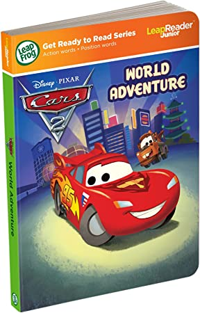 works with Tag Junior Leapfrog LeapReader Junior Book DisneyPixar Cars 2 World Adventure