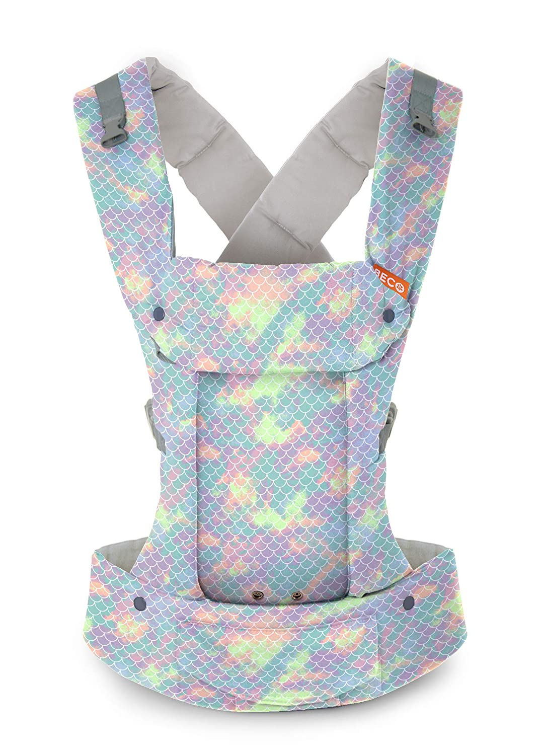 45cf6538d81 Amazon.com   Gemini Performance Baby Carrier by Beco - (Mermaid Sorbet -  Multi-Position Soft Structured Sling w Adjustable Straps   Comfort Padding  for ...