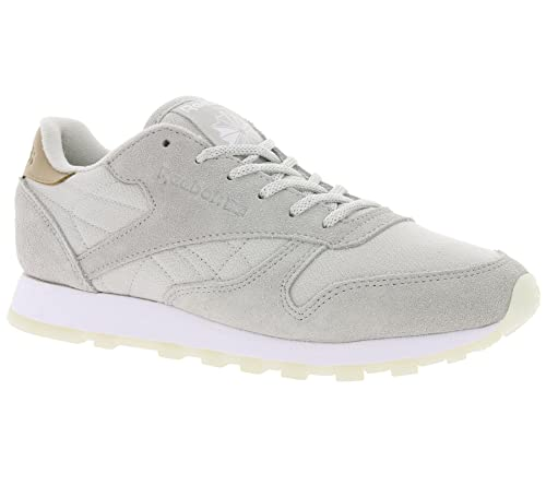 Reebok Classic Leather Mujer Zapatillas Gris