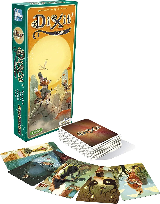 Libellud - Juego de Cartas, de 3 a 6 Jugadores (ASMDIX06EN ...