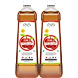 Sinew Nutrition Apple Cider Vinegar with Strands of Mother, 750 ml (Pack of 2)