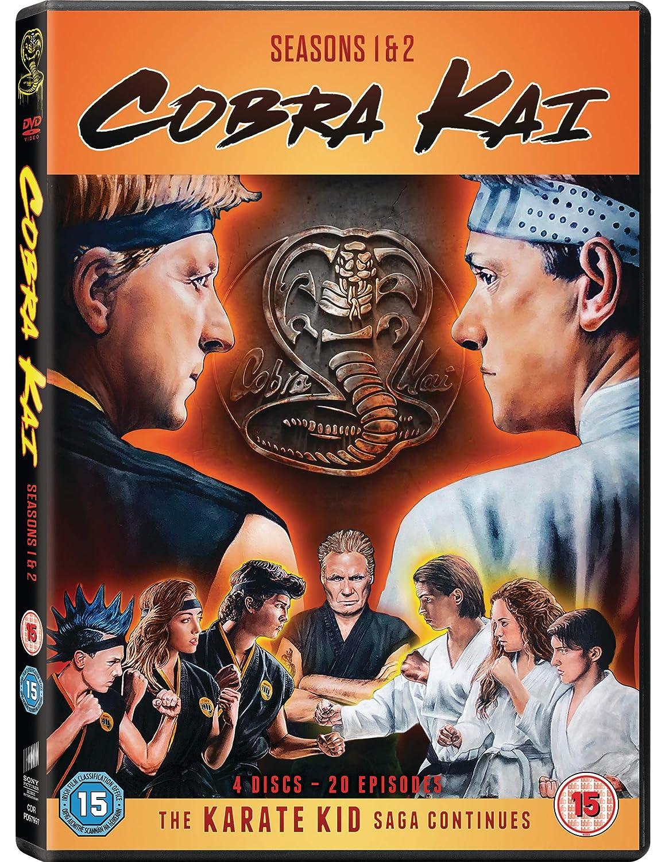 Cobra Kai - Season 01 / Cobra Kai - Season 02 - Set 4 DVDs UK Import:  Amazon.de: DVD & Blu-ray