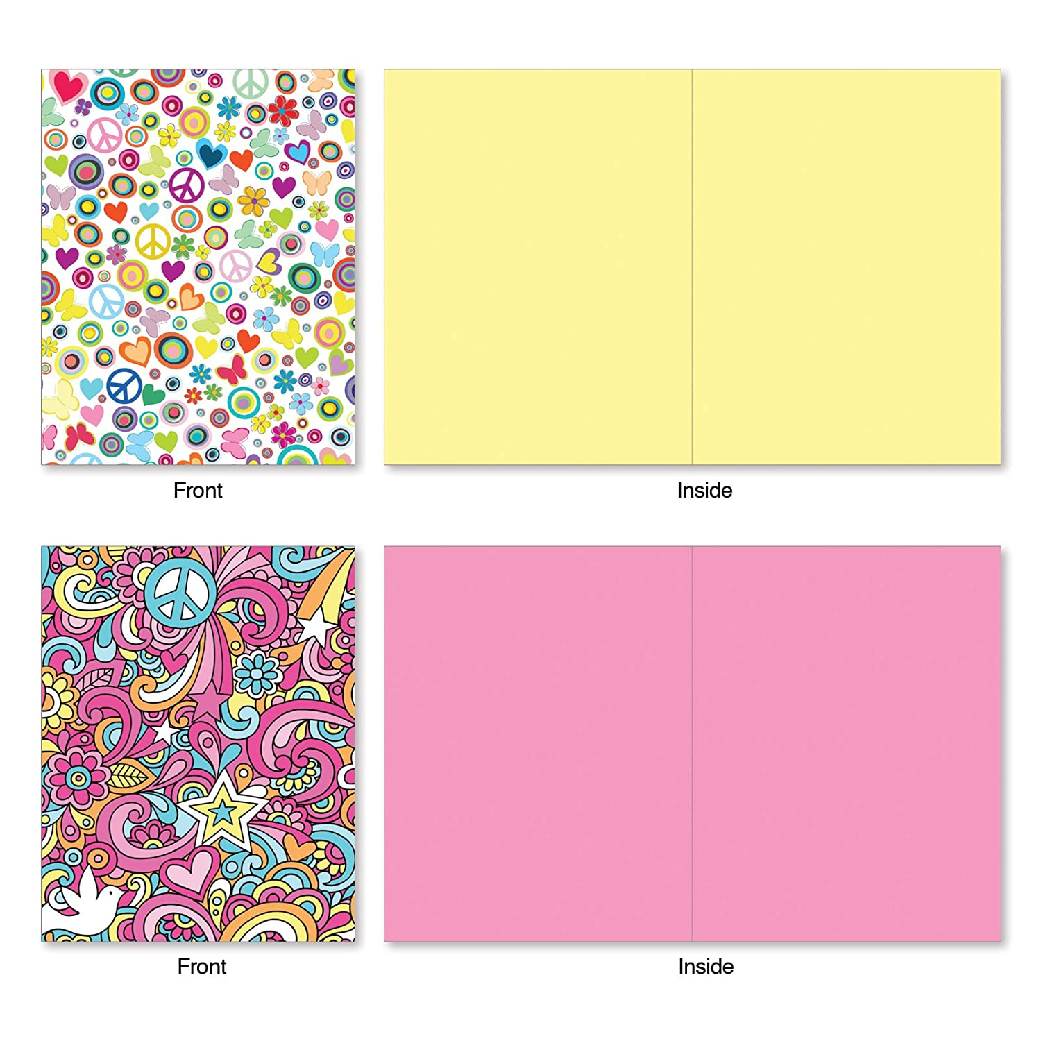 Fun Puns Blank Note Cards Box Of 10 Funny All Occasion Greeting