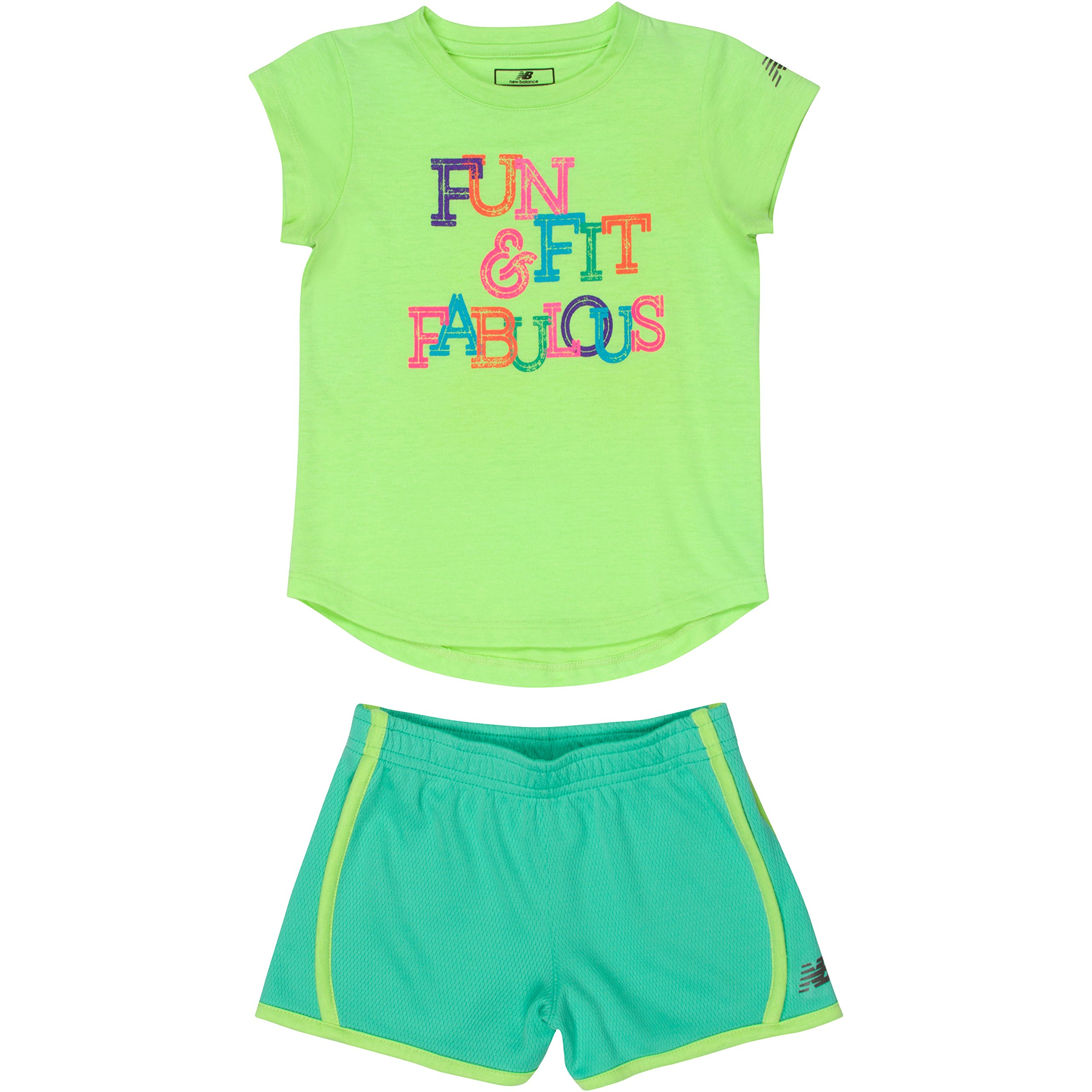 New Balance Girls Athletic Tee and Short Sets product image