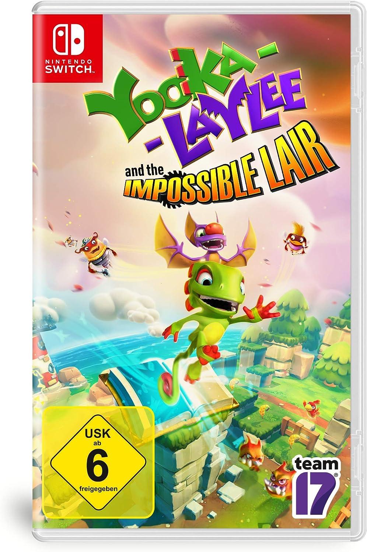 Yooka -Laylee and the Impossible Lair - [Nintendo Switch] [Importacion Alemania]: Amazon.es: Videojuegos