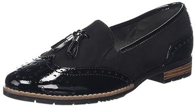 Softline Damen 24260 Slipper, Schwarz (Black), 40 EU