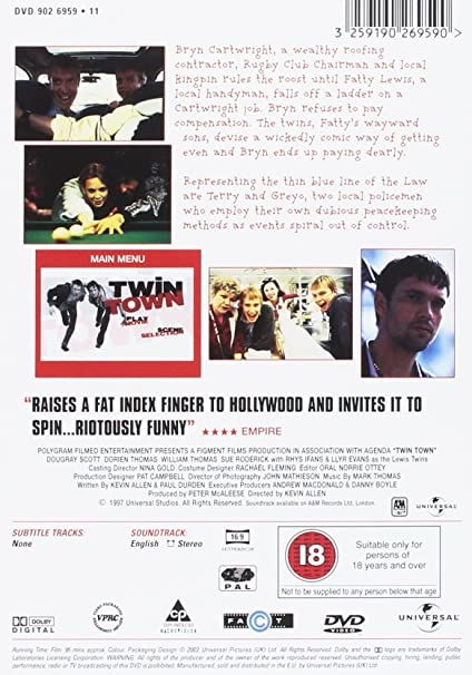 Twin Town [Reino Unido] [DVD]: Amazon.es: Llyr Evans, Rhys ...