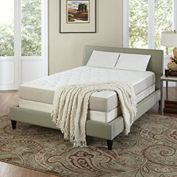 CoutureSleep 8 1/2 Inch Summer Gel Memory Foam Mattress