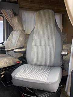 94-06 DUCATO Motorhome FRONT SEAT COVERS GREY CAMO DPM