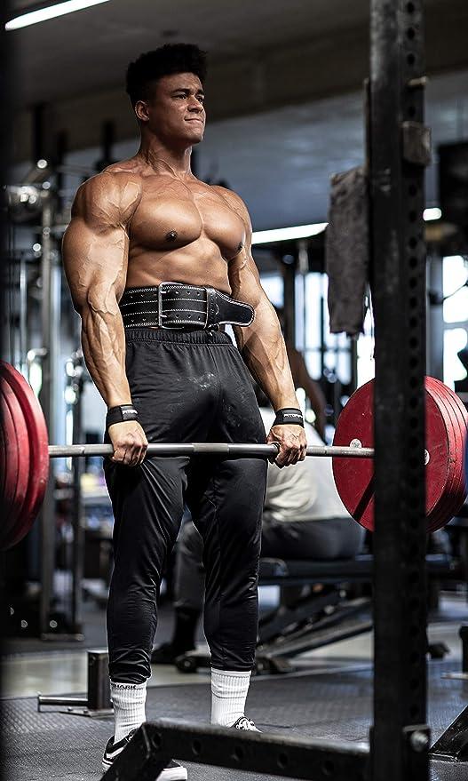Fitness Crossfit Ferswe Correas Levantamiento de Pesas Profesionales Agarres para Gym Mu/ñequeras Powerlifting Gimnasio para Halterof/ília Straps Powerlifting