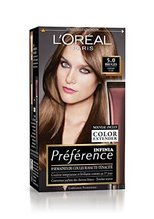 prfrence loral paris coloration permanente 51 chtain clair - Coloration Chatain Clair