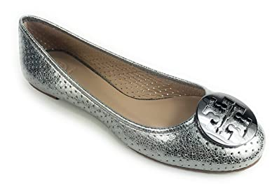 cc5f3e6e080 Image Unavailable. Image not available for. Color  Tory Burch Perforated  Reva Ballet Flat ...