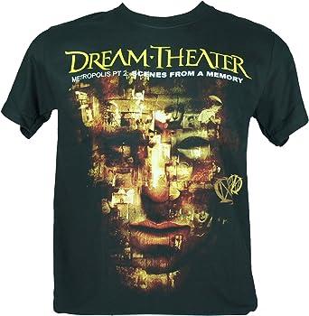 Dream Theater Camiseta Para Hombre Color Scenes From A Memory Medium Size M Amazon Es Ropa Y Accesorios