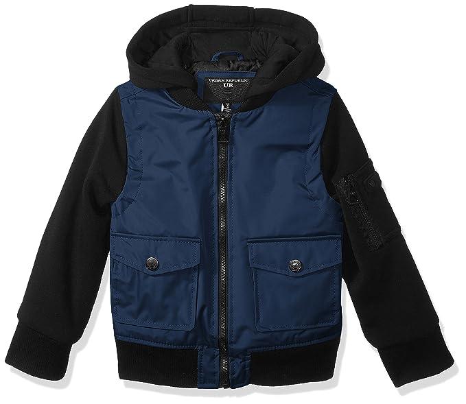 Urban Republic Boys Ballistic Jacket Melange Sleeve