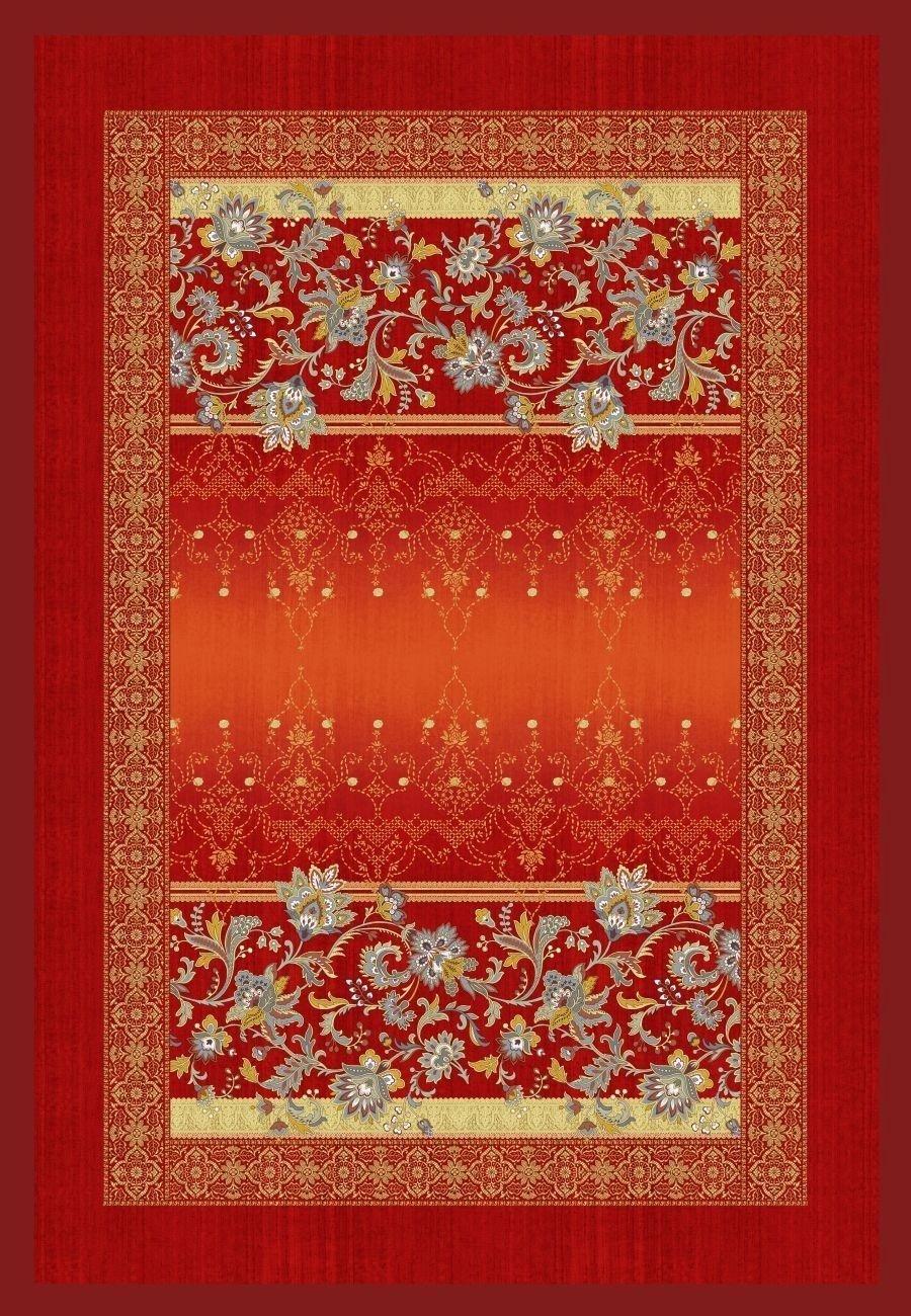 Bassetti Plaid   VASARI V1 - Rot - 135 x 190 cm