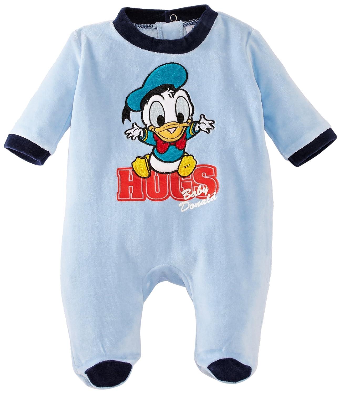Disney Donald Duck HM0369 I00 B Baby Boy s Sleepsuit Crystal Blue