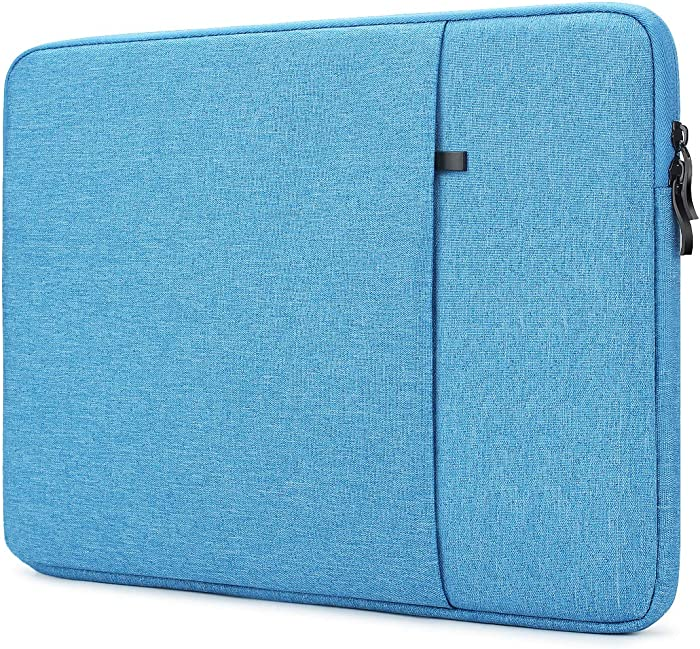 """NIDOO 14 inch Laptop Sleeve case Protective Computer Cover for 14"""" Lenovo Chromebook S330 / 14"""" HP ProBook 440 G6 / 14"""" Acer Swift 5 7/14"""" Dell Inspiron Chromebook 14/14"""" Lenovo IdeaPad 720s, Blue"""