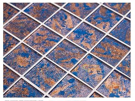 Solare venus vetro mosaico piastrelle fogli foil e glitter amazon