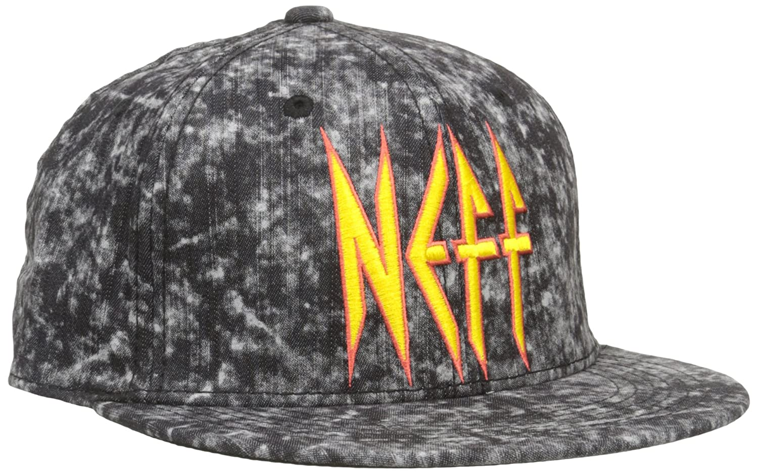 best service 60ca2 803f7 Amazon.com  NEFF Mens Leopard Adjustable Hat, Black, One Size  Clothing