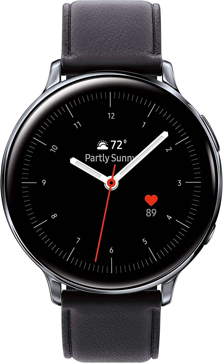 SAMSUNG Galaxy Watch Active 2 (44mm, GPS, Bluetooth, Unlocked LTE) Smart Watch with Advanced Health monitoring, Fitness Tracking , and Long lasting Battery, Silver - (US Version)