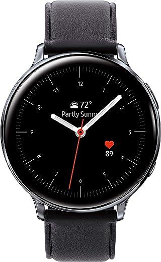 Samsung Galaxy Watch Active2 (44mm, GPS, Bluetooth, Unlocked LTE), Silver - (US Version)