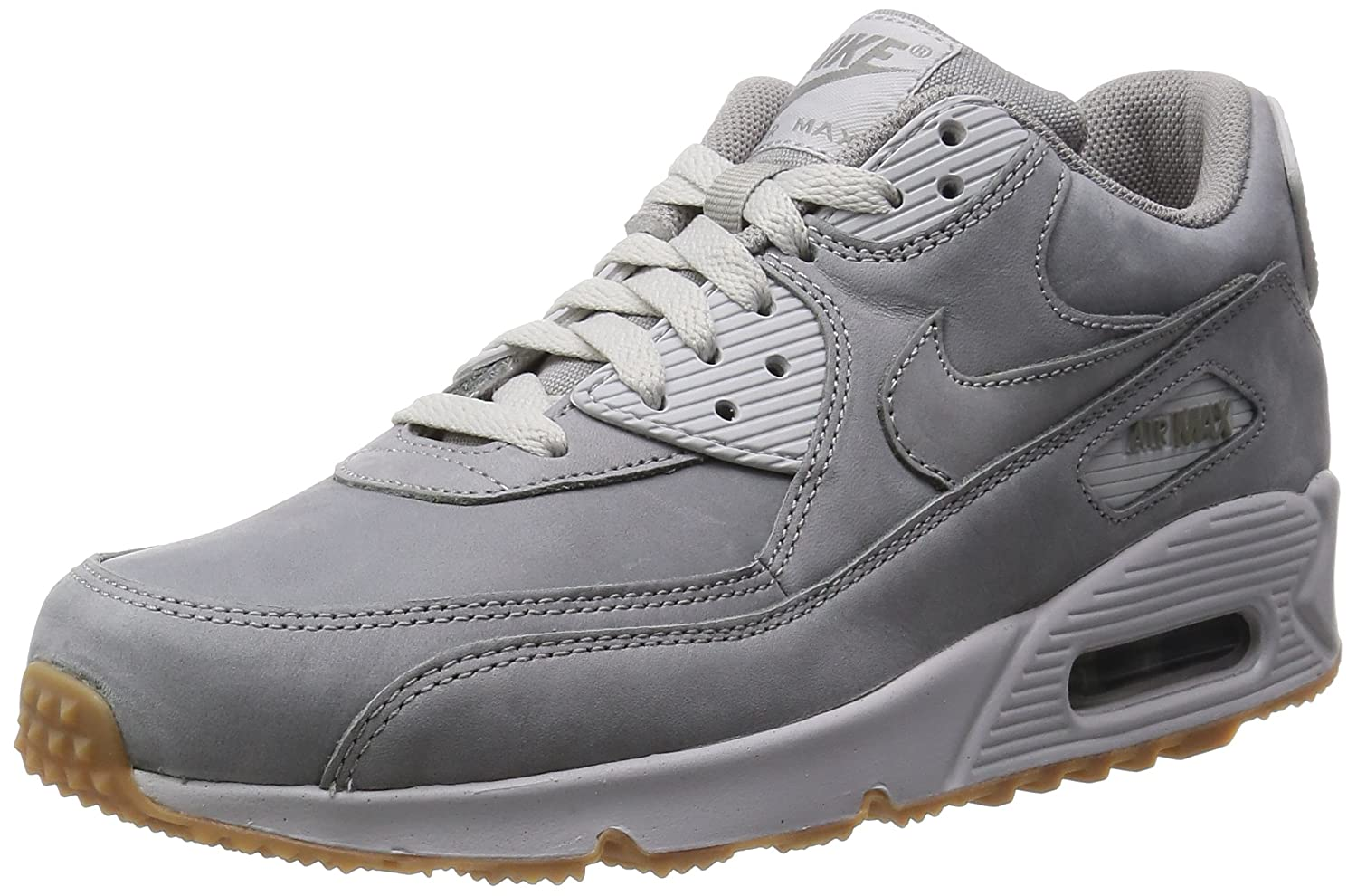 aa919bc881665 Nike Men's's Air Max 90 Winter PRM Running Shoes Gris (Medium MDM Grey-NTRL  Gry), 13.5 UK: Amazon.co.uk: Shoes & Bags