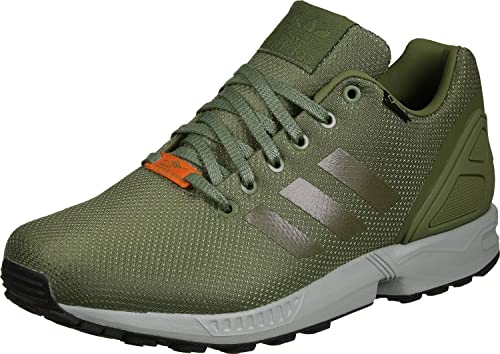 f423c14bb ... new arrivals adidas originals zx flux gtx s76443 olive sneaker schuhe  shoes mens gore tex amazon ...