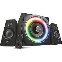 Trust Tytan GXT 629 Set Altoparlanti 2.1 con Illuminazione Led RGB Regolabile e Telecomando Wireless, Nero