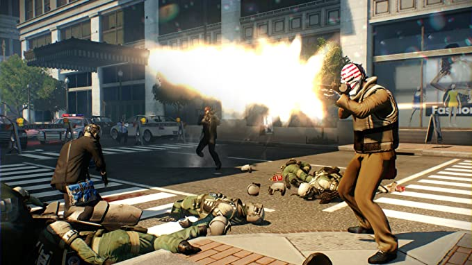 Payday 2 Crimewave Edition (PS4): Amazon co uk: PC & Video Games