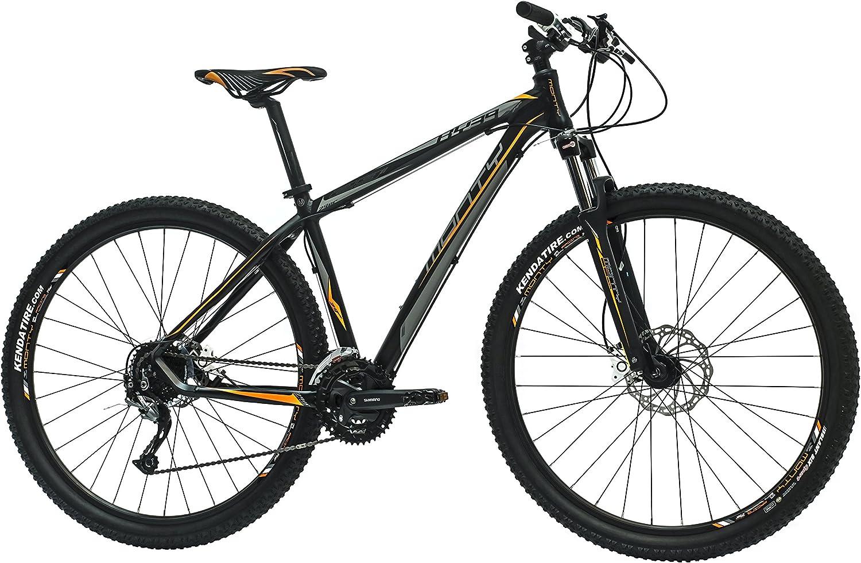 Monty KY39 Bicicleta de Montaña, Unisex Adulto, Negro, L: Amazon ...