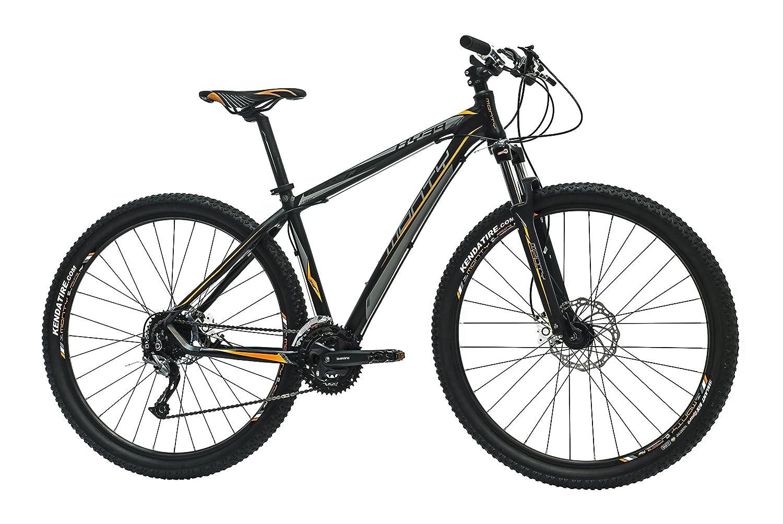 Monty KY39 Bicicleta de Montaña, Unisex Adulto, Negro, S: Amazon ...
