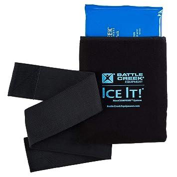 Amazon.com: Frío y calor sistema Ice Pack Wrap para cuello ...
