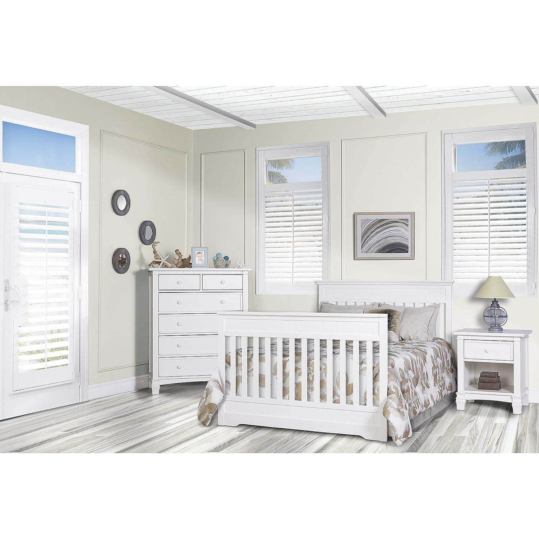 Snow Fall Dream On Me Chesapeake 5-in-1 Convertible Crib