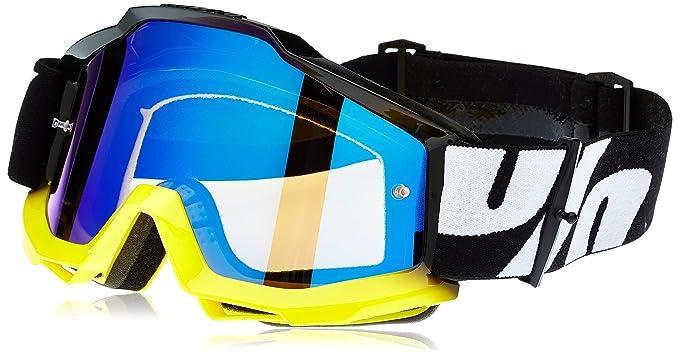 100% Accuri Mirror Lens MX Offroad Goggles Tornado 2 Blue Lens ... 5cf84c2677996