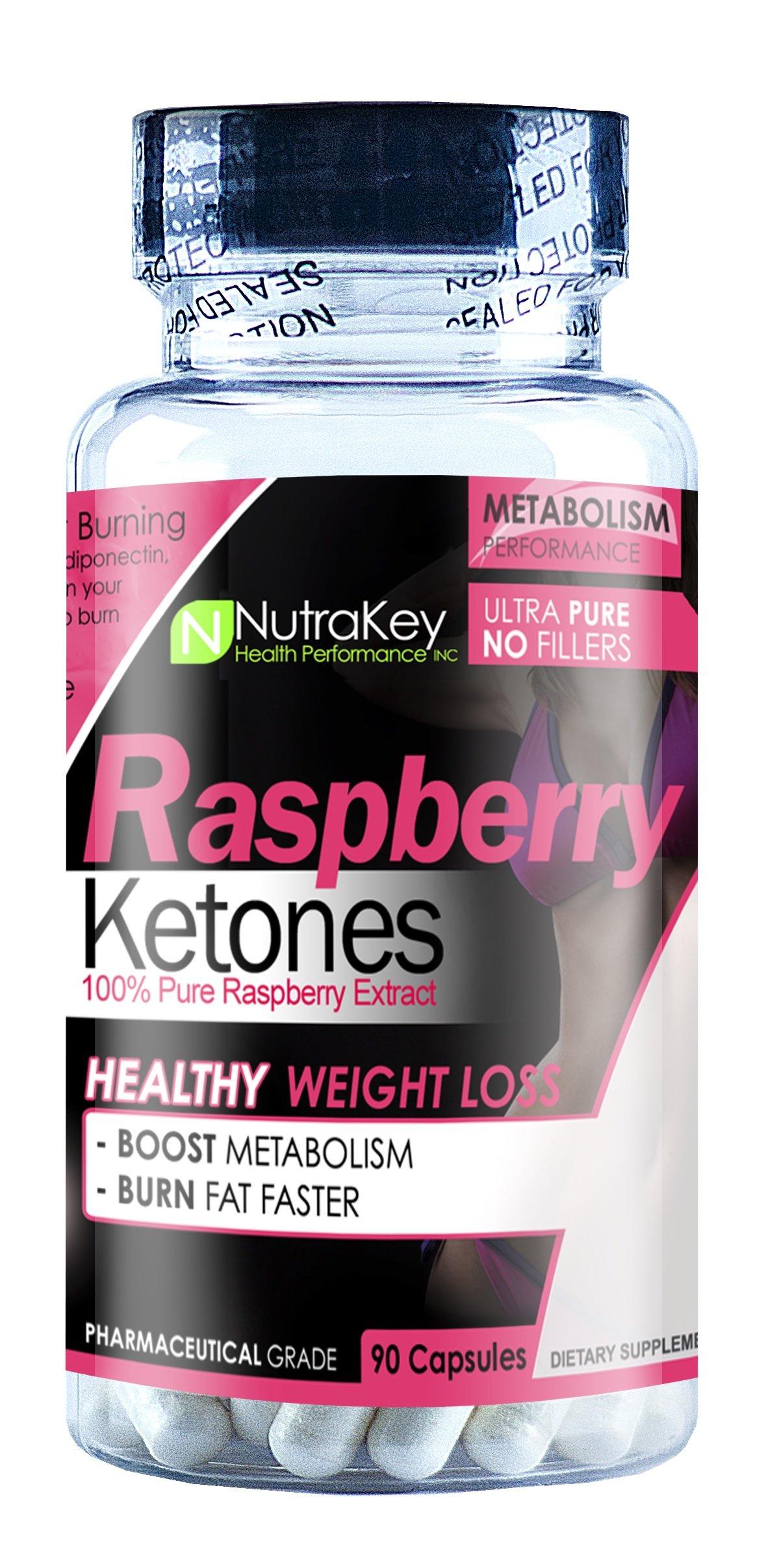 NutraKey Raspberry Ketones 90 Count