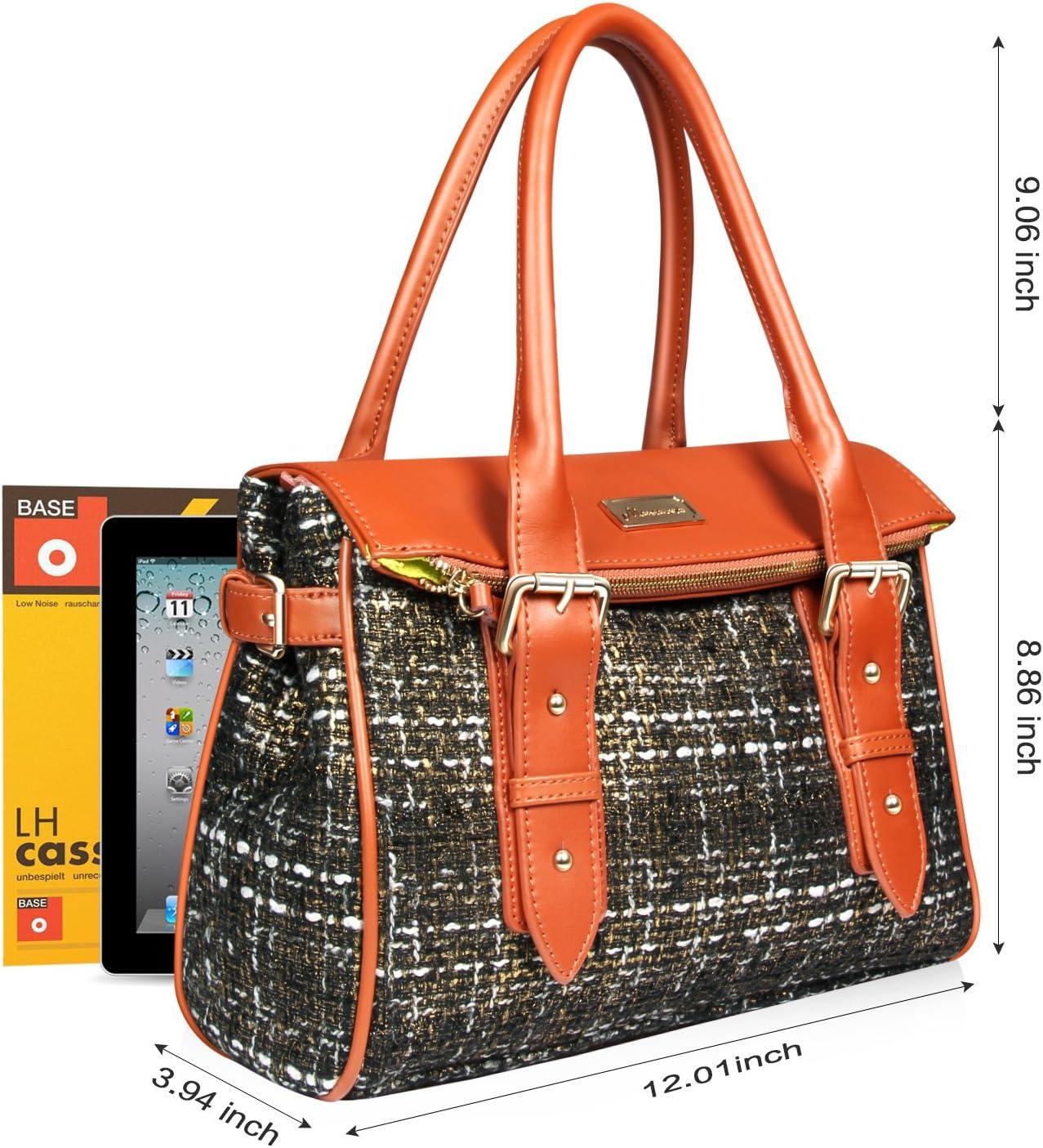 Mansarovar Womens Genuine Leather Handbags Top Handle Shoulder Bag Tote Bag Satchels Purses for Ladies