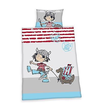 Herding 269584063 Lara Vikingo ropa de cama, funda de almohada de 40 x 60 cm