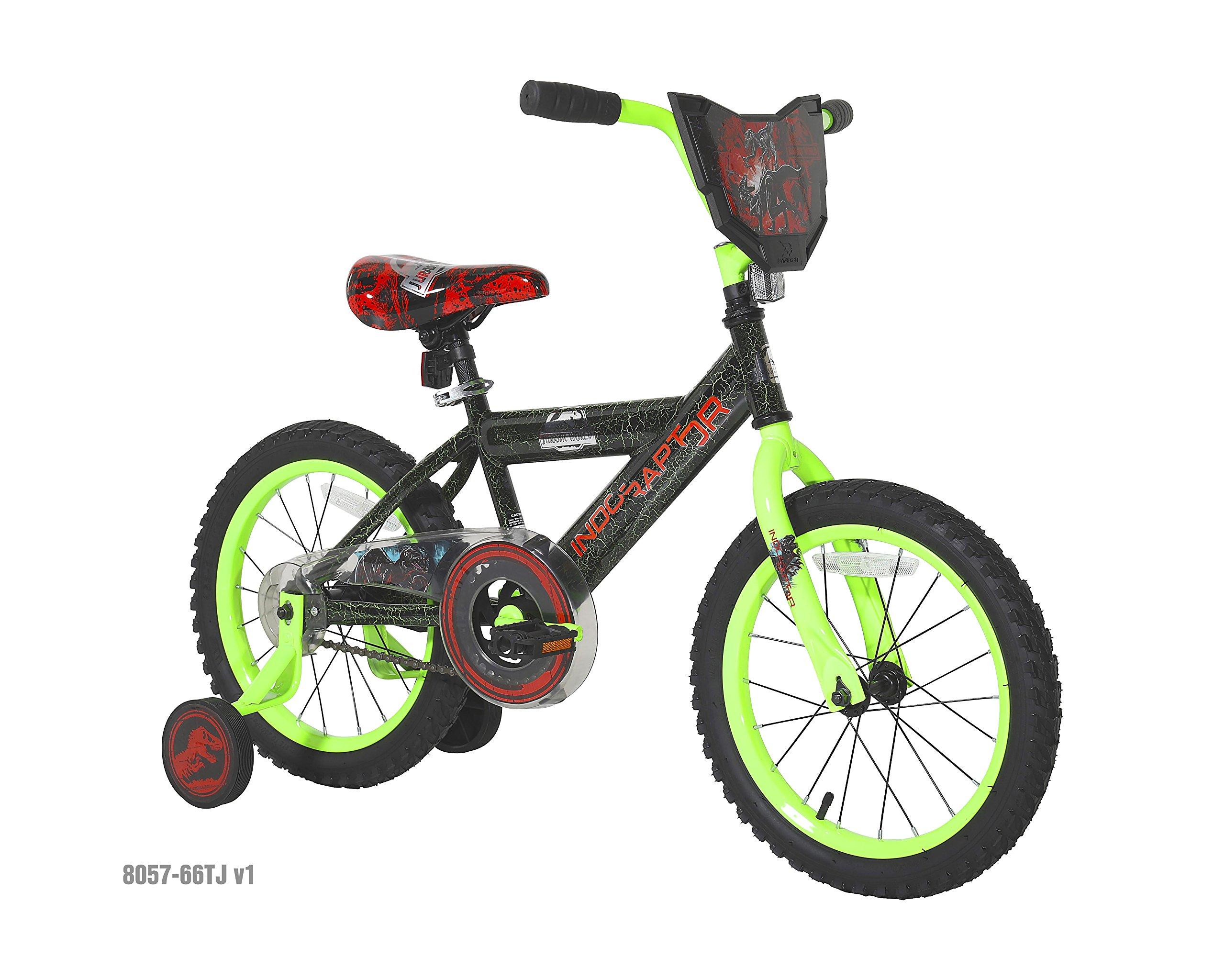 Dynacraft Jurassic World Bike, 16'', Green