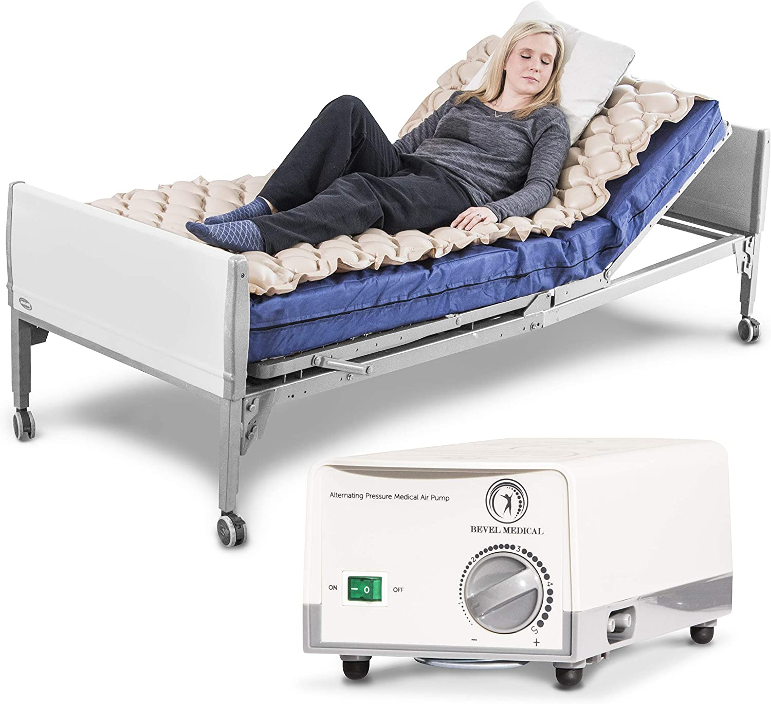 Premium Alternating Air Pressure Mattress for Medical Bed